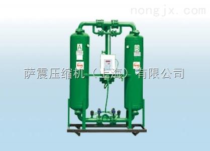 供应萨震微热再生吸附式压缩空气干燥机