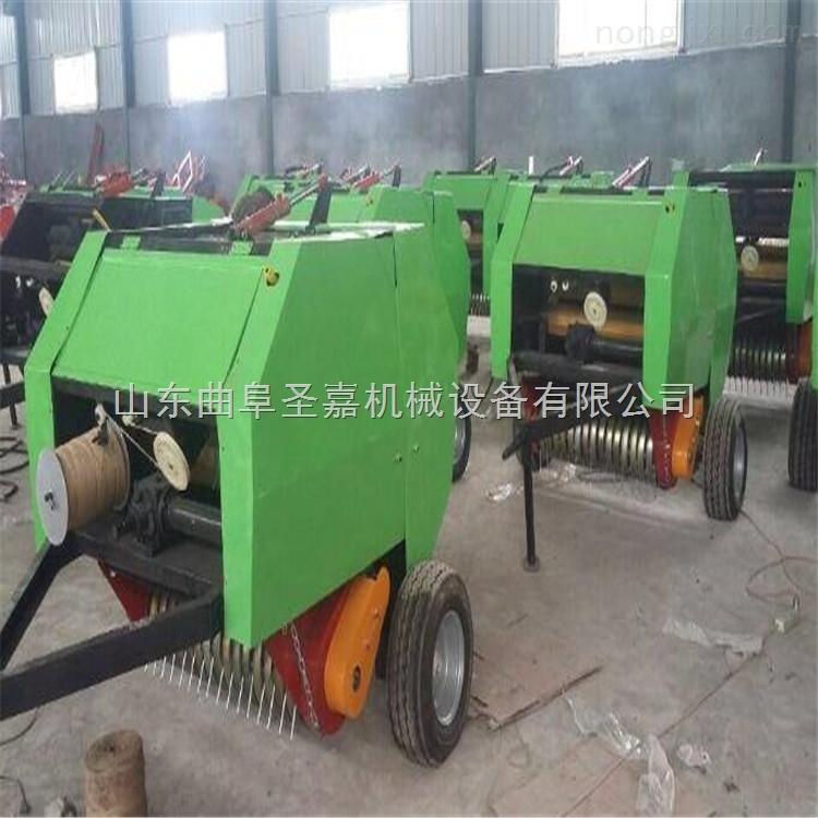 JC-5080-内蒙全自动秸秆打捆机厂家定做 拖拉机带的秸秆打捆机报价