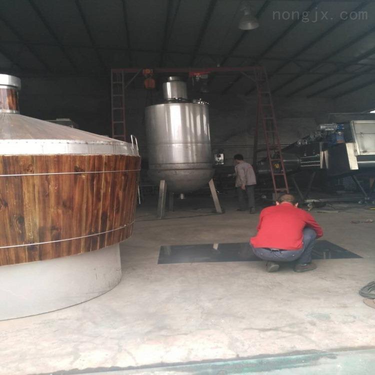 湖南小型家用成套酿酒设备多少钱一套 白酒冷却器厂家