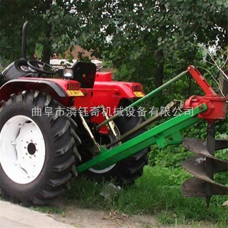 挖坑机农业挖坑机