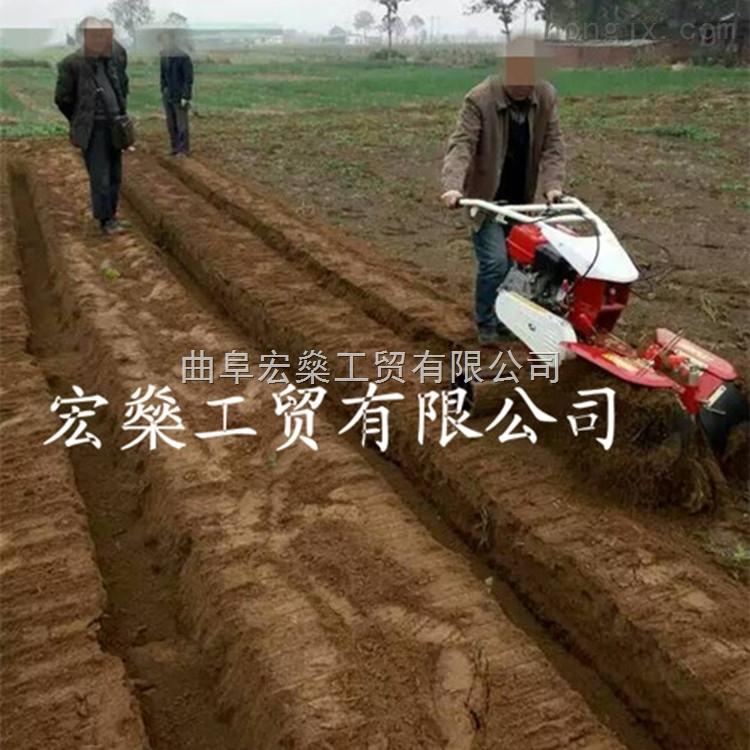 柴油田園管理機 大蔥培土機 馬鈴薯開溝培土機