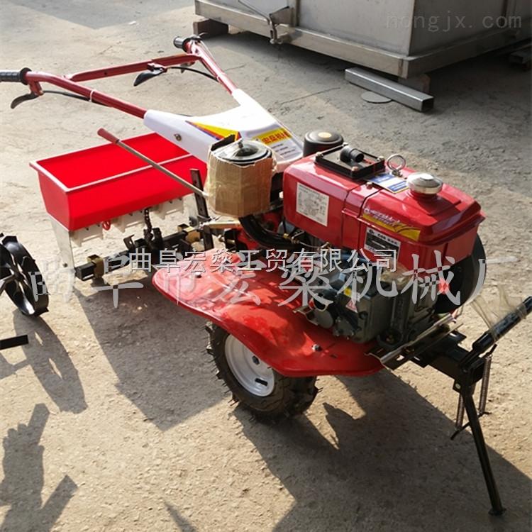 小型柴油微耕机 专业除草松土机 手扶小型耕地机