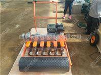 下种量精密的蔬菜播种机 汽油手持式多行播种机