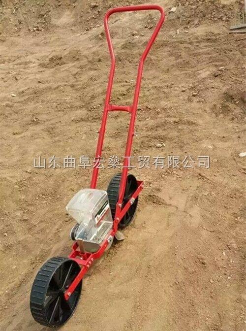 HS-質量好電動4行蔬菜播種機 新沂市谷物播種機