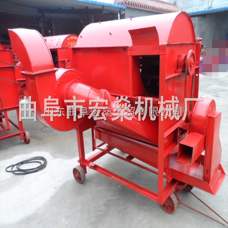 HS-TL50-农用小型稻谷脱粒机 小麦去皮机械厂家