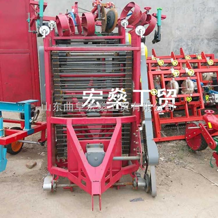 破损低土豆收获机设备、火爆畅销番薯收货机