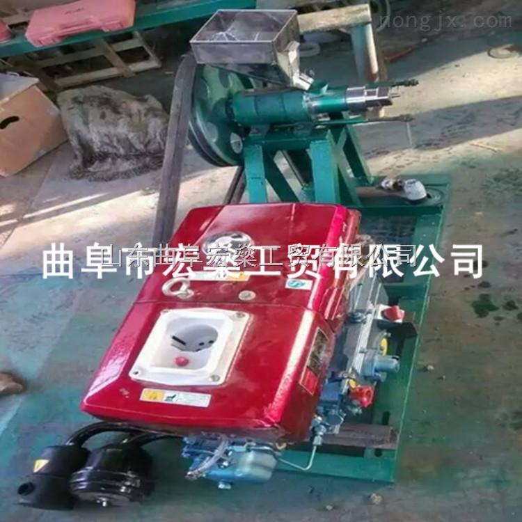 HS-洛川县白面玉米面食品膨化机 7用样式玉米酥果机
