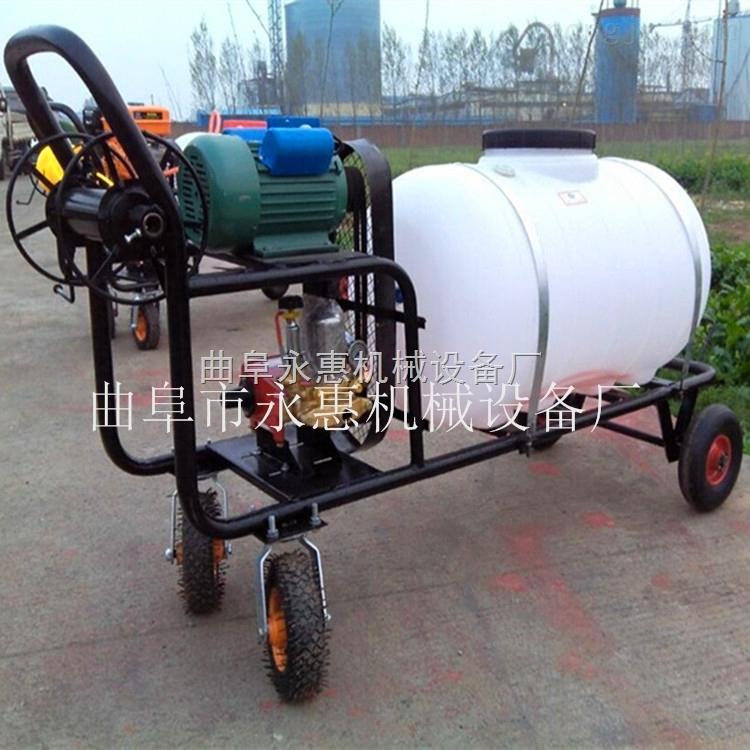 農業打藥機正品 手推式噴霧機300L  四輪手推式園林噴霧機