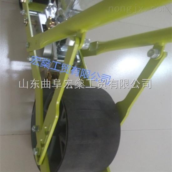 HS-巴东县 适应沙土地农作物棉花播种机 陇上白菜种植效率高