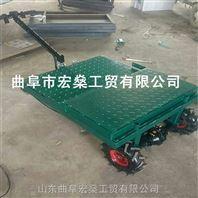 黄梅县平板钢板材质运输车超市进货搬运车定制