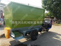 养殖便携式喂料车 效率高效的自动撒料车