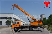 济宁四通10吨汽车吊车质优价廉品质高热销全国