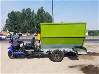 动力撒料车规格 批发饲料撒料车 耐用草料撒料车