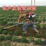 便携式汽油松土机价格 混合油松土除草旋耕机 割草机刀片