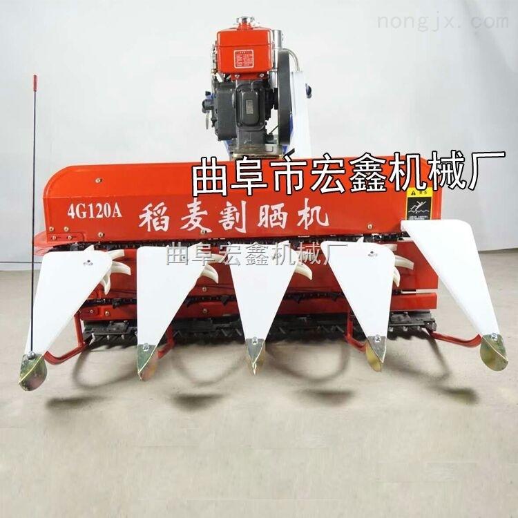牧草割晒机 小型水稻联合收割机价格 手扶式狼尾草收割机