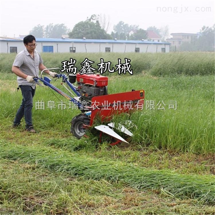 全自动小麦收割机 自动铺放式牧草收割机 油菜籽收割机