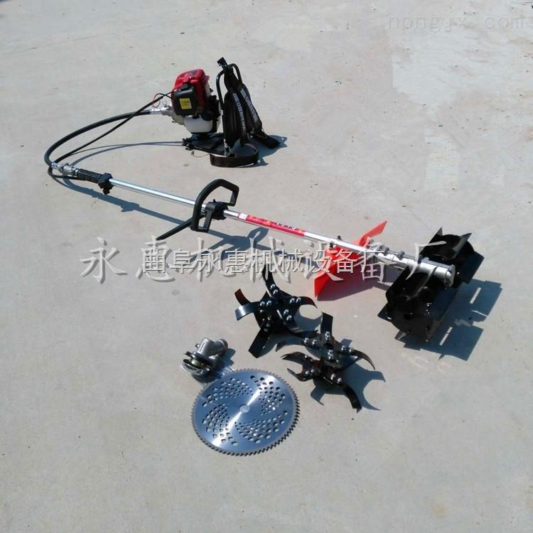 农用小型背负式多功能除草机,背负式小麦收割机
