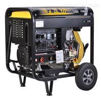 移动式柴油发电机带焊机一体机