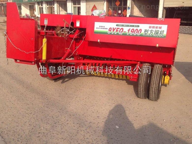 xy型号-稻草捡拾式打捆机 方草捆麦草打捆机 价格