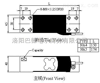 na4-60kg台湾mavin足立称重传感器