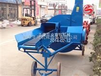 柴油机带动的链条式玉米秸秆青储铡草机产量