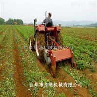四轮带动红薯土豆割秧机 杀秧机价格