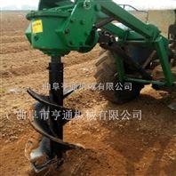 便携式好操作手提挖坑机