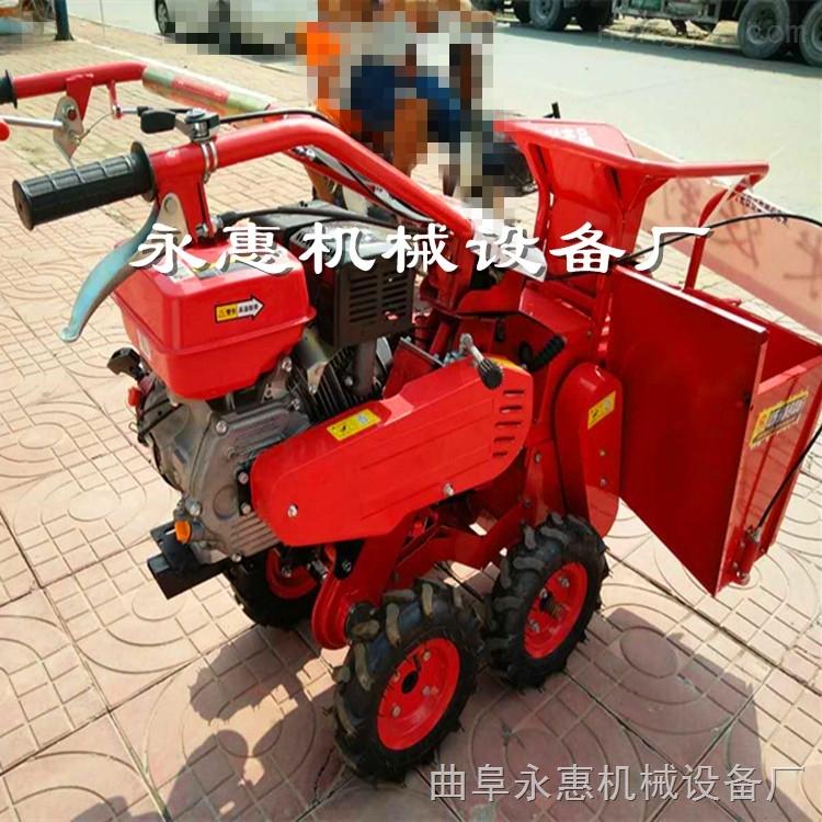 山西玉米秸秆收割机 四轮自走式玉米收获机价格