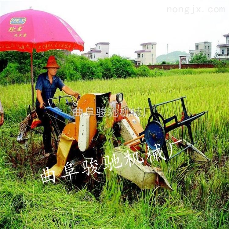 谷物联合收割机 水稻小麦收割脱粒一体机参数