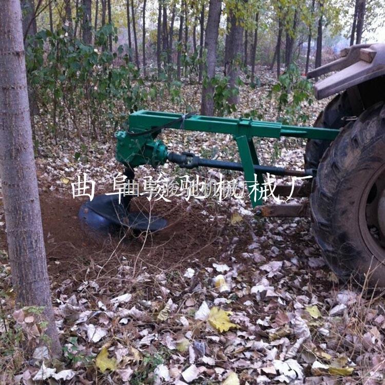 汽油动力小型打桩机 挖树坑螺旋钻机 高效植树机