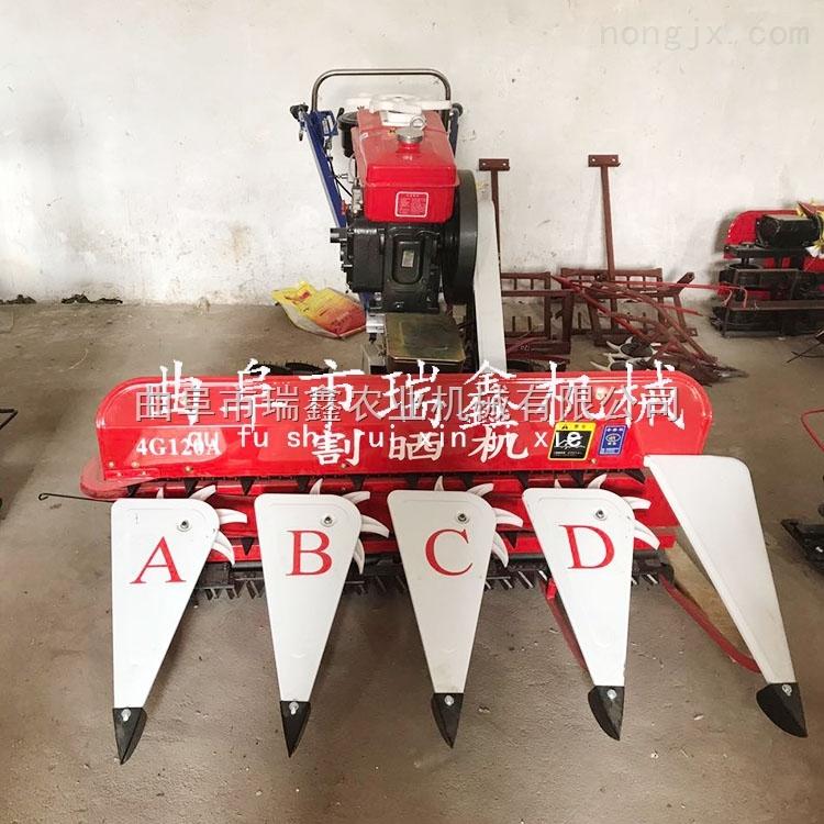 新型汽油割晒机视频 小型大豆收割机 辽宁荞麦收割机