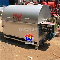 煤气两用瓜子炒货机 多功能滚筒花生炒货机 低噪音炒货机厂家