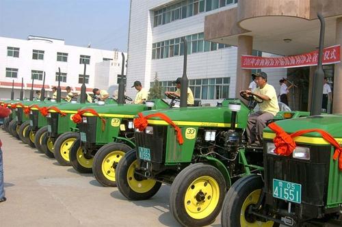 乐山市农机购置补贴工作序幕拉开