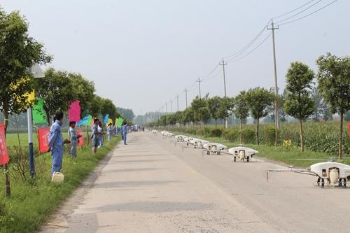 全丰航空安徽泗县30万亩飞防作业再上央视