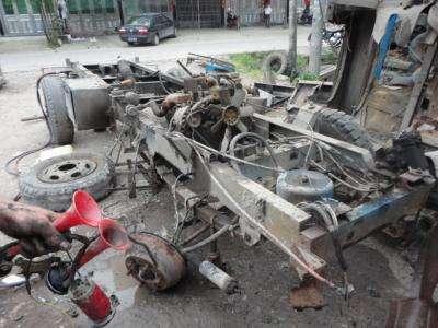 如东县:集中报废151辆下海拖拉机