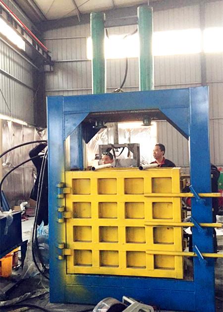 石家庄塑料瓶液压打包机厂家 80吨废纸皮液压打包机